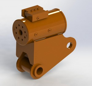 马蹄铁式摆动定制油缸