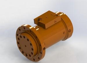 湿喷机摆动专用油缸